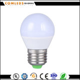Bulbo de A60 80lm/W Plastic+Aluminum LED con Ce