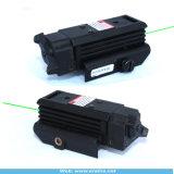 Держатель рельса ткача интегрировал тактическое компактное визирование лазера зеленого цвета (ES-XL-XMG)