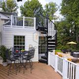 Mordenの家の使用のための炭素鋼の螺旋階段