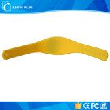 Braccialetti di RFID con il pulsante di misura adattabile, modifica Ultralight dei Wristbands del silicone di NFC