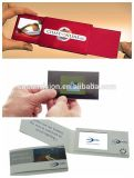 """Video Boek Van Bedrijfs brochure 4.3 het """" LCD van de Reclame"""