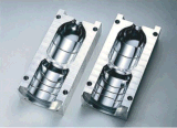 Semi Auto 300мл 500ml 700 мл 1000 мл 1500 мл ПЭТ-бутылки машины для выдувания цилиндра экструдера