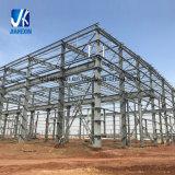 La prefabricación de ahorro de costes el tramo largo prefabricados de estructura de acero galvanizado prefabricados