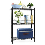 Height Adjustable Small Space Living Room Storage Metal Wire Shelf Wide Adjustable Rack Links