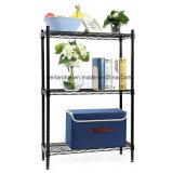 Pequeño espacio de almacenamiento de Salón Estantería Metálica amplia unidad de rack ajustable