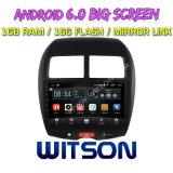 """Grand écran 10,2"""" Witson Android 6.0 DVD de voiture pour Mitsubishi Asx"""
