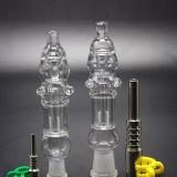 De Rokende Pijp van het Water van het glas met de Collector van de Nectar van de Boorplatforms van het Uiteinde van het Titanium