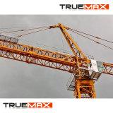 Flache Oberseite-Turmkran 1 Tonnen-Spitze-Eingabe