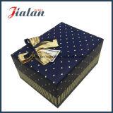 Custom напечатано оптовой День Рождения подарочной упаковки бумаги ящики с дугами