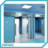 Porte coulissante hermétique de salle d'opération d'acier inoxydable pour l'hôpital