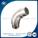 Coude différent de degrés de pipe sanitaire d'acier inoxydable/garnitures de tube