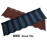 Azulejo de azotea revestido de la ripia del metal de la piedra superventas de los productos