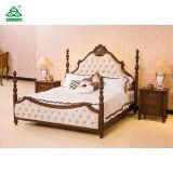 현대 나무로 되는 Deluxu 한 벌 호텔 표준 사이즈 침실 가구 세트
