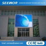 Alto tabellone per le affissioni esterno di colore completo LED di definizione P10mm per fare pubblicità