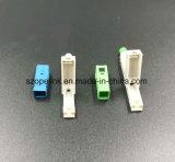 Aus optischen Fasern schneller Verbinder für die Steckschnür angewendet im Netz und im Radioapparat