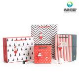 Bolso de compras de múltiples funciones de encargo de la impresión del regalo que empaqueta por Año Nuevo