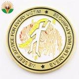 Тисненые металлические задача монеты с животных