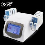 Carrocería portable del diodo láser de la reducción de Lipo que forma adelgazando el dispositivo