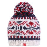 Жаккард Red Hat Skull Red Hat трикотажные Red Hat детей Beanie Red Hat