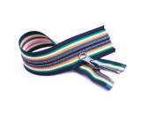 Zipper de Vislon com fita colorida/qualidade superior