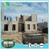 Construction résidentielle composée de panneau de mur de sandwich d'installation à résistance facile de tremblement de terre