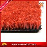 Erba di moquette artificiale d'abbellimento naturale della decorazione del giardino