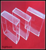 石英ガラスのガラス容器のヒーターを取り除きなさい