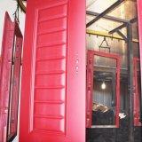 Exterior de la principal puerta de acero de diseños de los precios de las puertas de seguridad