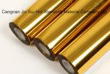 Película de aluminio caliente de la lámina para gofrar para las tarjetas/las escrituras de la etiqueta