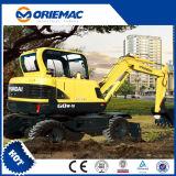 Excavadora de ruedas Hyundai wvs R150a 15 ton.