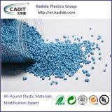 Gewijzigde PC Masterbatch van de Weerstand van het Plastic Materiaal Chemische van de Rang van de Uitdrijving
