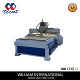 Sola máquina del CNC de la pista para el funcionamiento de madera