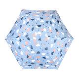 紫外線日本の方法5フォールドは小型小型の傘を保護する