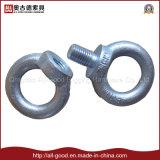 Noix galvanisée d'oeil de boucle de l'acier du carbone DIN582