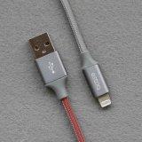câble de remplissage rapide tressé de la qualité USB de 1m pour iPhone8/Iphonex
