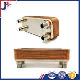 Échangeur de chaleur brasé par 304/316L d'acier inoxydable pour le refroidissement par eau