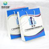 Bolsa de papel de empaquetado de la impresión de lujo de encargo con la maneta para las compras