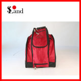 Outdoor Sports Red Snowboard Boots and Helmet Bag Backpack