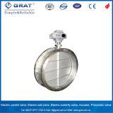Wasser-Media-und Niederdruck-Drosselventile mit elektrischem Stellzylinder