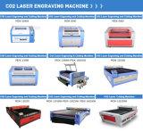 Автомат для резки гравировки лазера СО2 для ткани кожи ботинок ткани