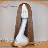 ハイエンド皮の上のヨーロッパのバージンの毛のかつら(PPG-l-0257)