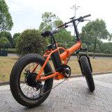 China-preiswerter 20 Zoll-Minifalz-fetter Reifen-elektrisches Fahrrad