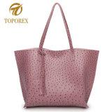 Borsa di cuoio dell'unità di elaborazione delle donne casuali del sacchetto di Tote della signora Shoulder di modo della Cina