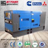 Generatore silenzioso insonorizzato del gruppo elettrogeno del motore diesel di Genset 80kw di potere 100kVA