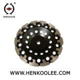 ダイヤモンドのエポキシ樹脂床のための粉砕のコップの車輪PCD