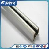 Perfil de alumínio da alta qualidade 6063t5 do OEM com superfície anodizada natural