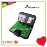 Cuoio dell'unità di elaborazione del taccuino degli scompartimenti del Portable 28 7 recipienti di plastica della casella di memoria di Vtamin della pillola di giorno
