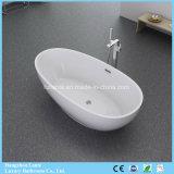 Vasca di bagno indipendente connessa senza giunte di colore bianco all'ingrosso per 2 persone (LT-705)