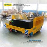 Carrello materiale del trasporto della bobina elettrico sul vagonetto curvo