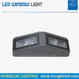 La finestra del LED illumina l'indicatore luminoso impermeabile esterno della finestra 3*2W